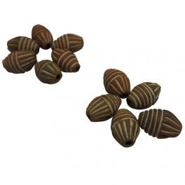 Perles terre cuite